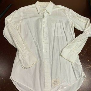 Thom Browne Long Sleeves Button Down Shirt Size 4